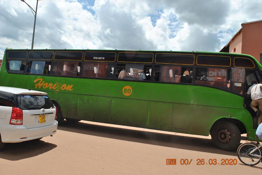 Intercepted bus