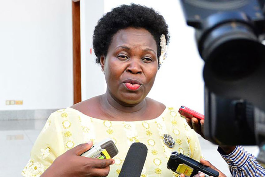 Ruth Nankabirwa, Nampala wa Gavumenti