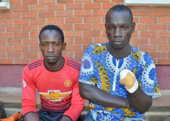 Tonny Mawejje ne Kamada Mutebi ku kkooti Entebbe