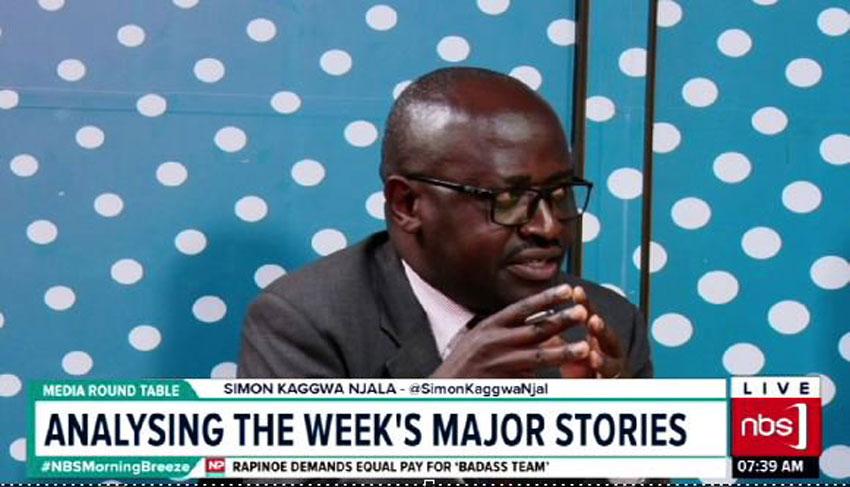 NBS' Simon Kaggwa Njala is said to have contracted Covid-19