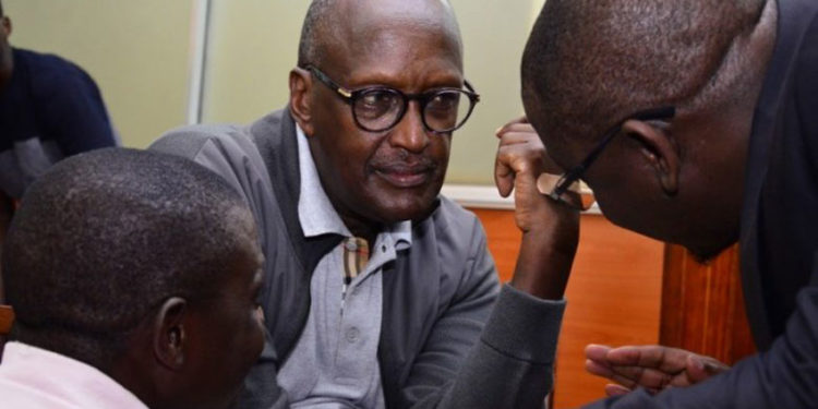 Gen Tumukunde in court recently