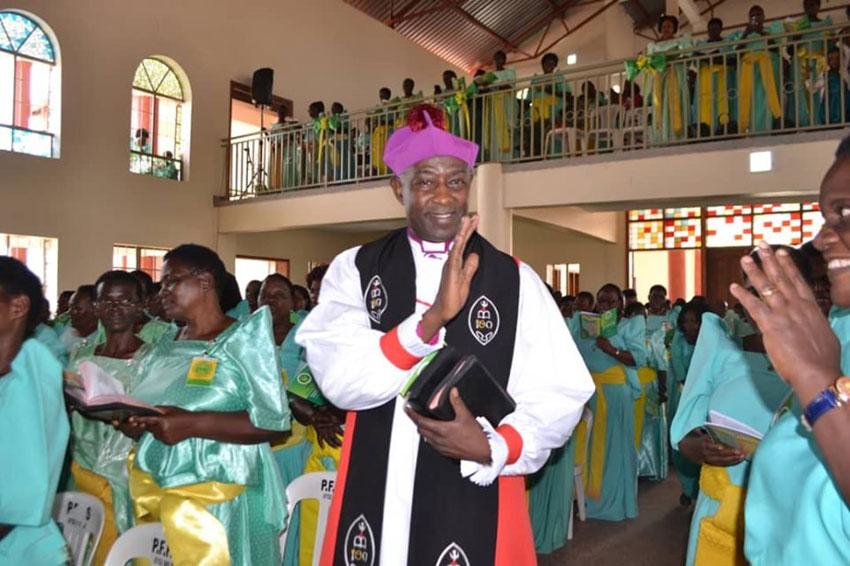 The Archbishop of Uganda Dr Kaziimba Mugalu