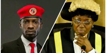 Bobi Wine and Speaker Kadaga
