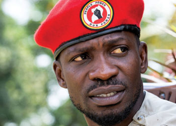 People Power leader Bobi Wine
