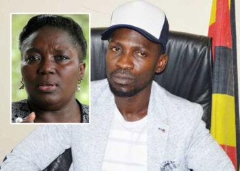 Speaker Kadaga and Bobi Wine