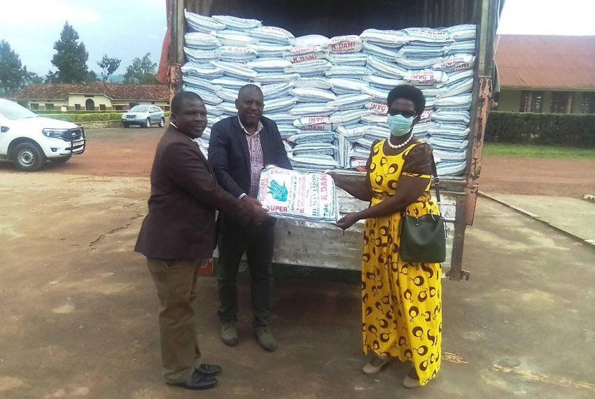 MP Aja Andrew Baryayanga's donation