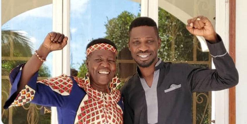 Dr Zedriga with Bobi Wine