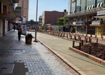 Kampala city after lockdown