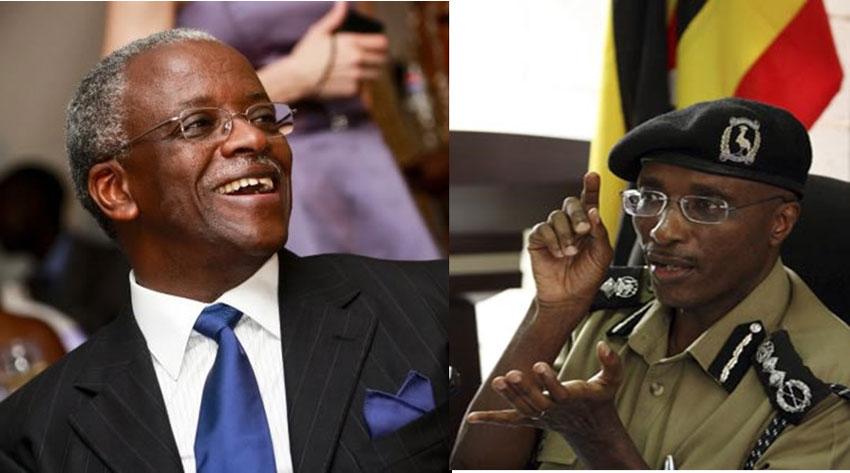 Former Uganda Premier Amama Mbabazi and Former Police Chief Kale Kayihura