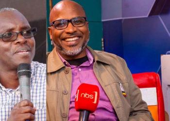 Robert Kabushenga and Pastor Martin Ssempa