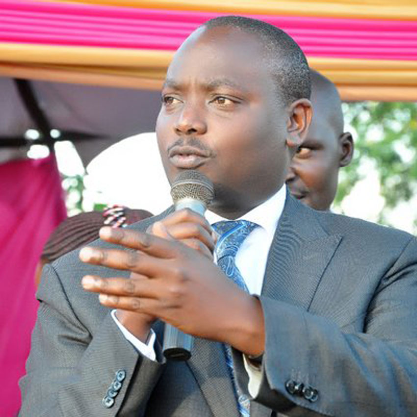 State Minister for Water Ronald Kibuule
