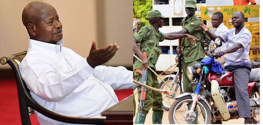 Pulezidenti Museveni ku kkono ate aba LDU bwe baali baziyiza omusawo okugenda ku ddwaliro gyakolera gye buvuddeko