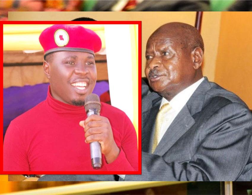 MP Francis Zaake and President Museveni