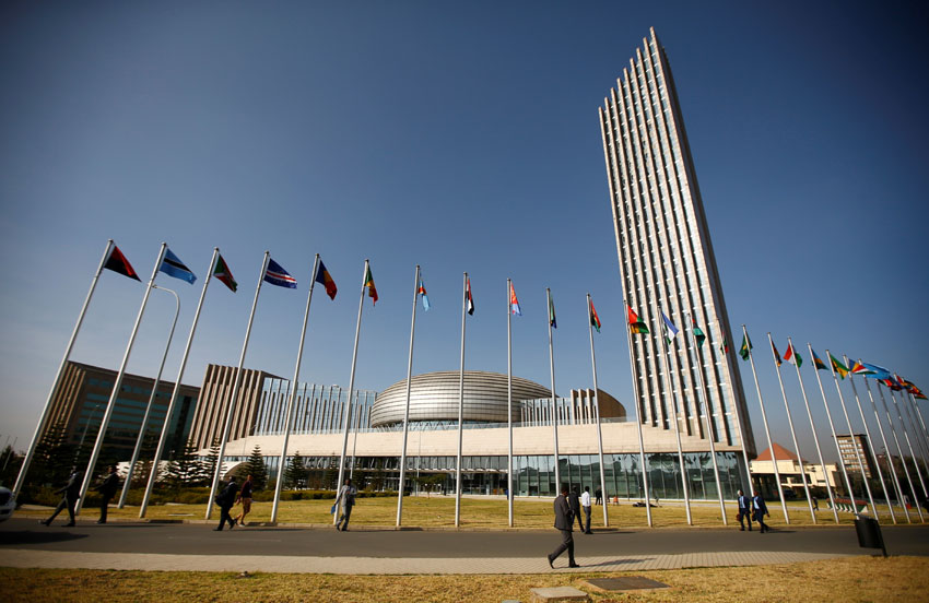 AU headquarters