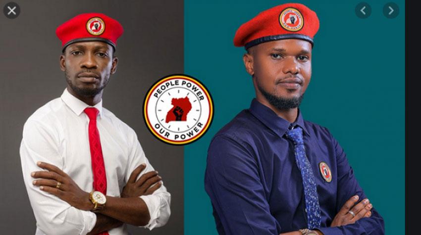 Bobi Wine and Ashburg Katto