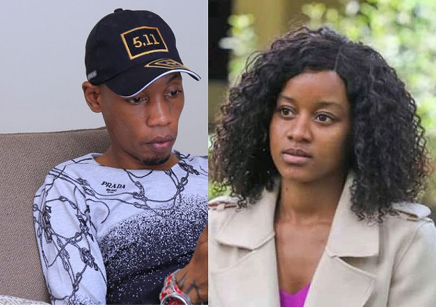 Bryan White and his victim Vivian Matanda