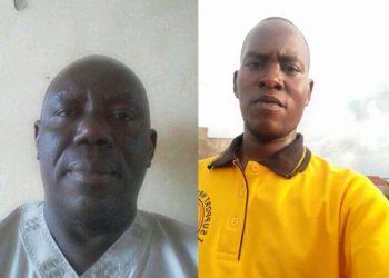 L-R: Bugiri Eastern Division chairperson Mugoya Mutwalib with assaulted Councillor Grace Mwesigwa