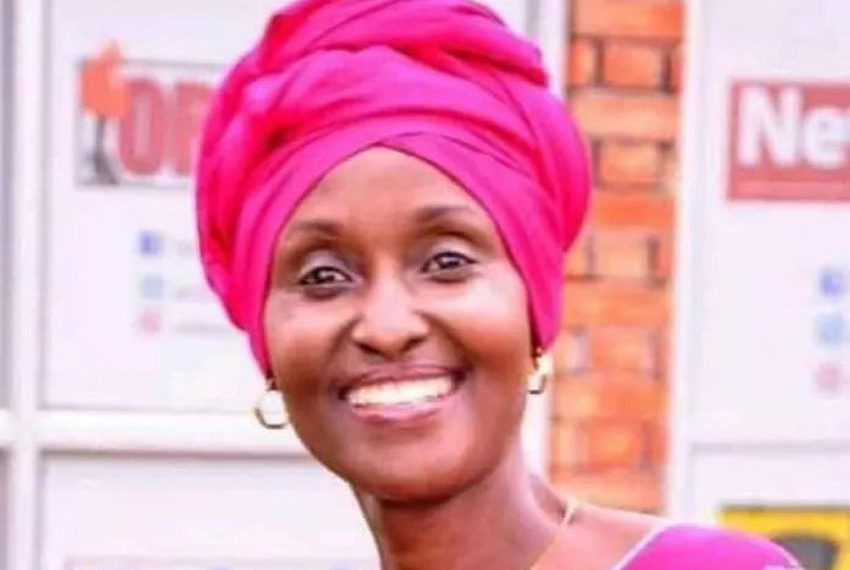 The late Christine Kabasweka