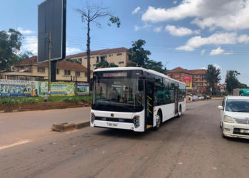 Uganda made electric bus