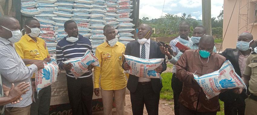 MP Catherine Ndamira's donation