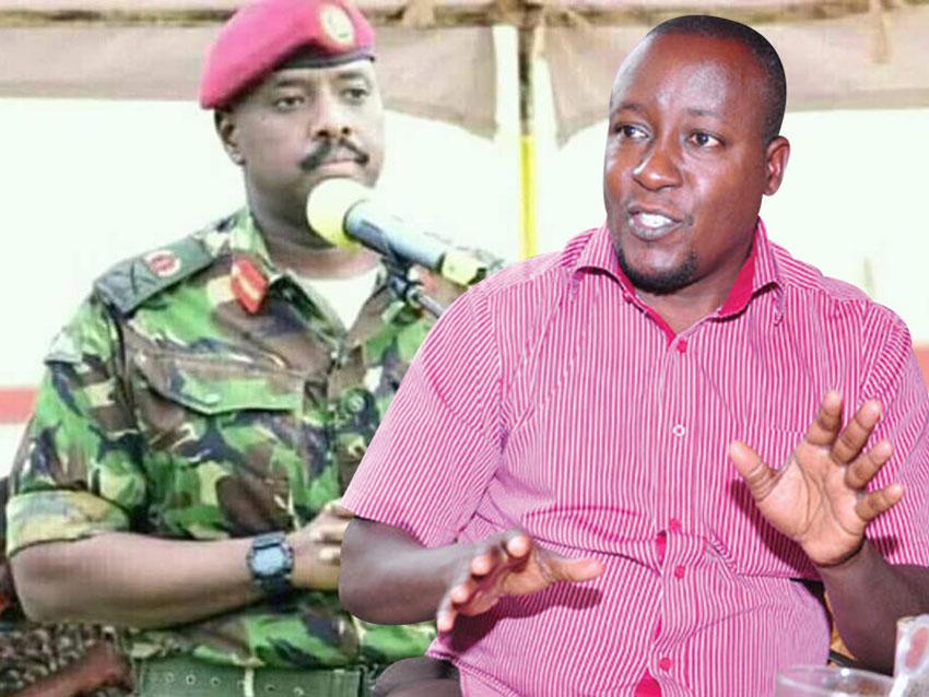 Gen Muhoozi Kainerugaba and Joseph Kabuleta