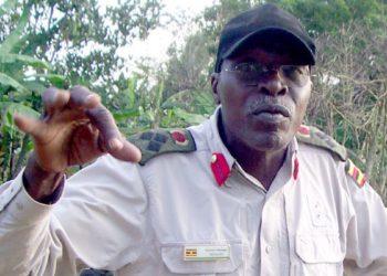 Gen Wasswa Kasirye Ggwanga ali ku kitanda e Nakasero