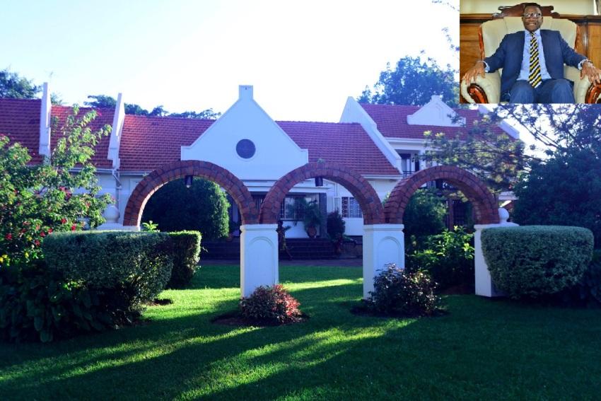 Katikiro Mayiga's Lweza House