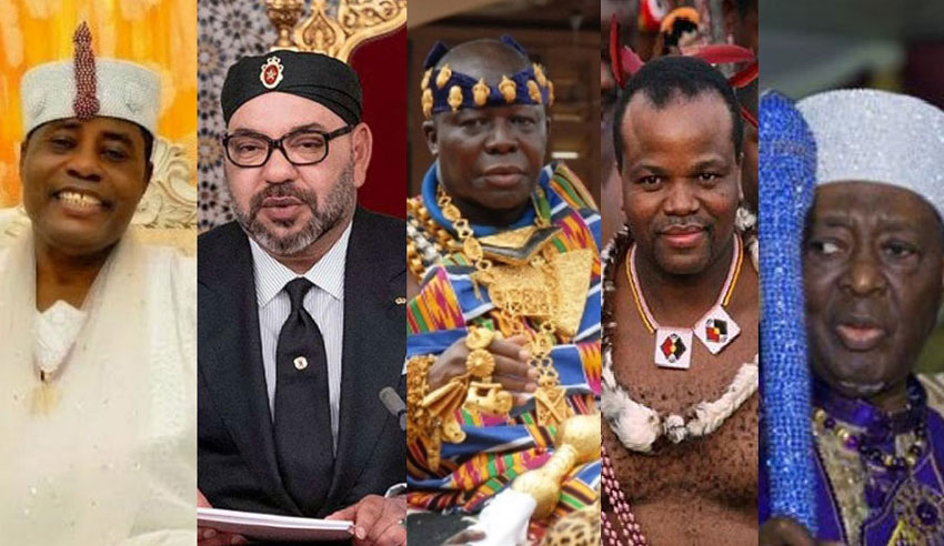 Here are the 5 richest kings in Africa – Watchdog Uganda