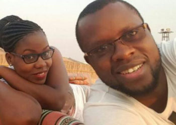 Faridah Nakazibwe and embattled husband Omar Ssali