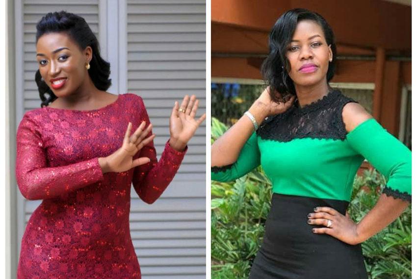 Justine Nameere and Faridah Nakazibwe