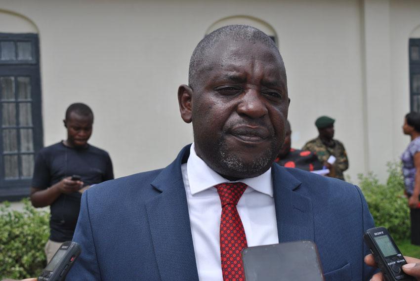 Kabale RDC Darius Nandinda, the head of the district taskforce