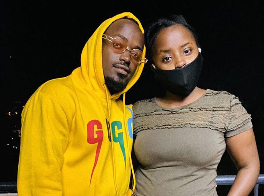 Ykee Benda with Sheila Nduhukire