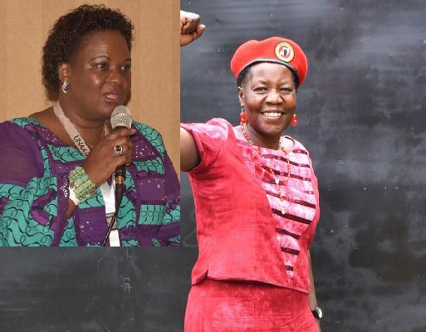 Kampala Affairs Minister Betty Amongi and Dr Zedriga