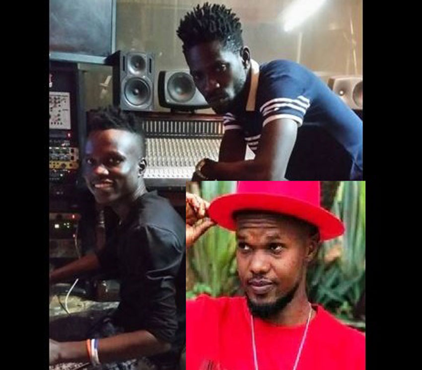 Sir Dan Magic, Bobi Wine and Ashburg Katto