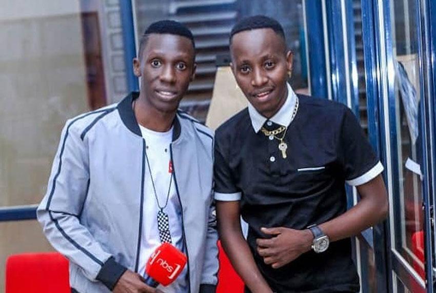Douglas Lwanga and MC Kats
