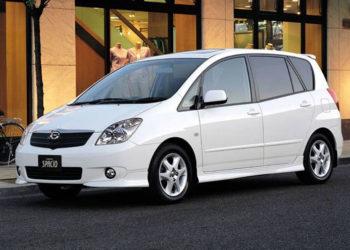 2004, Toyota Spacio