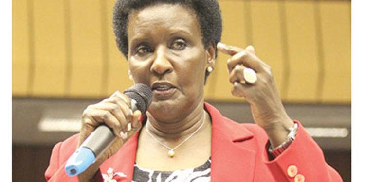 Trade Minister Amelia Kyambadde