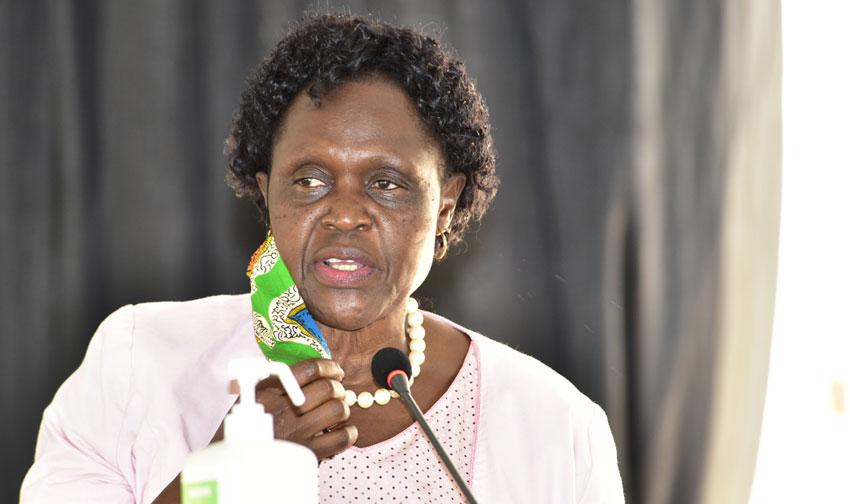 Environment Minister Beatrice Anywar