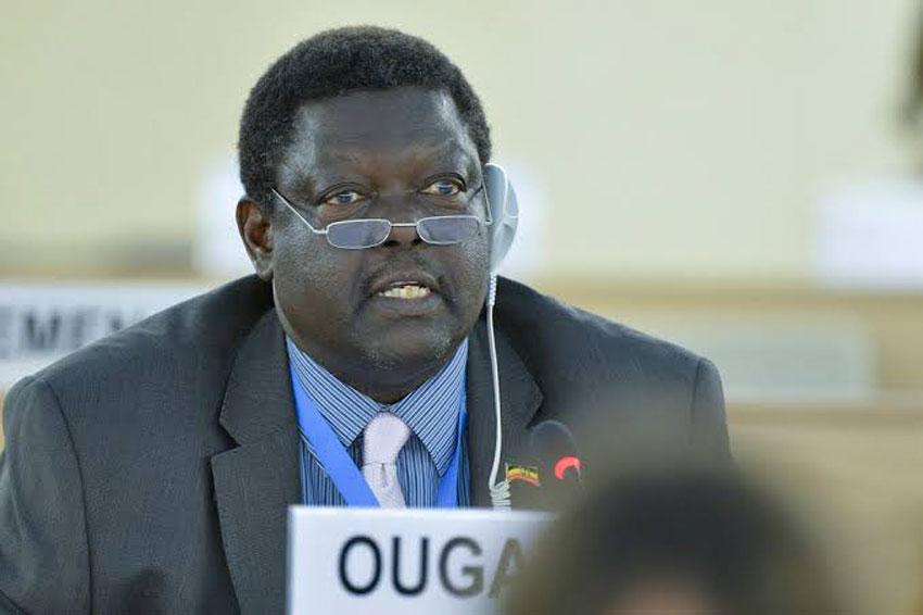 The late Christopher Onyanga Aparr