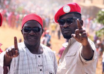 Jeema president Asuman Basalirwa and Bobi Wine