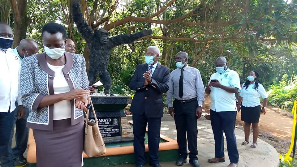Monument of iconic chimpanzee, Zakayo unveiled at UWEC