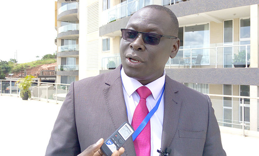 Mr James Ebitu, Permanent Secretary at Ministry of Gender, Labour and Social Development