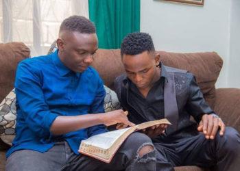 Pastor Wilson Bugembe with John Blaq