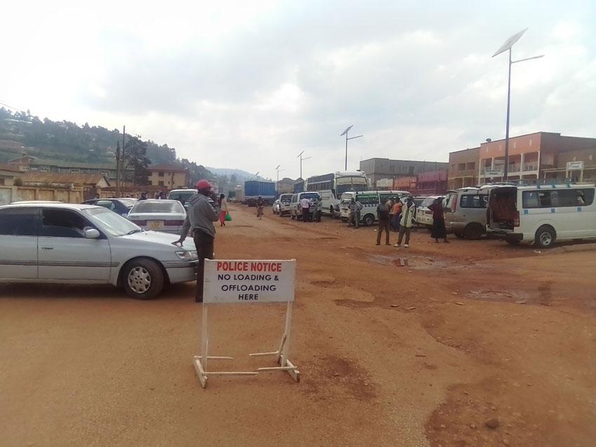 Situation at Kabale Taxi Park