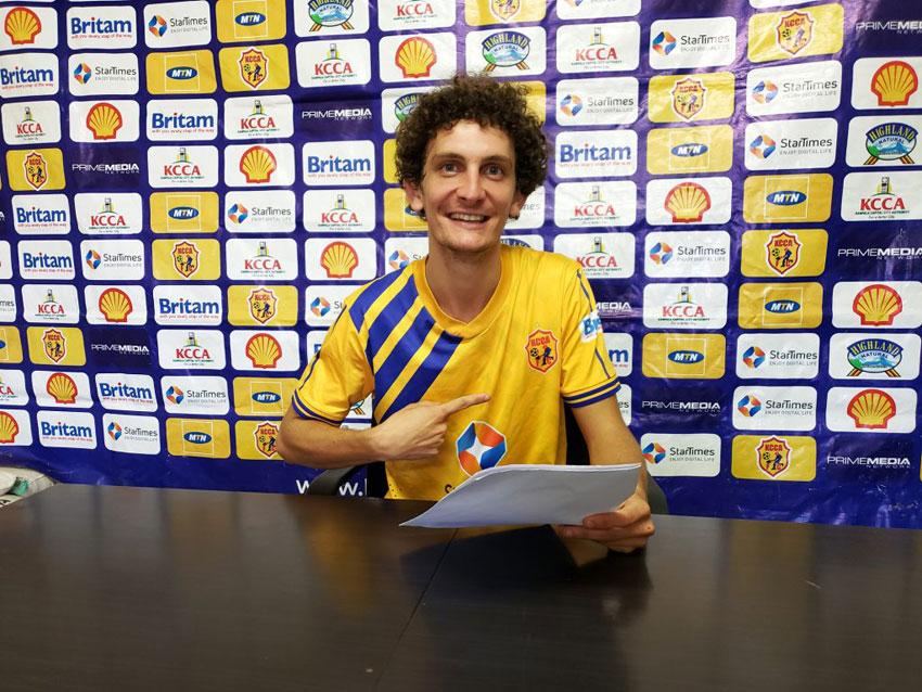 New KCCA signing Stefano Mazengo Loro