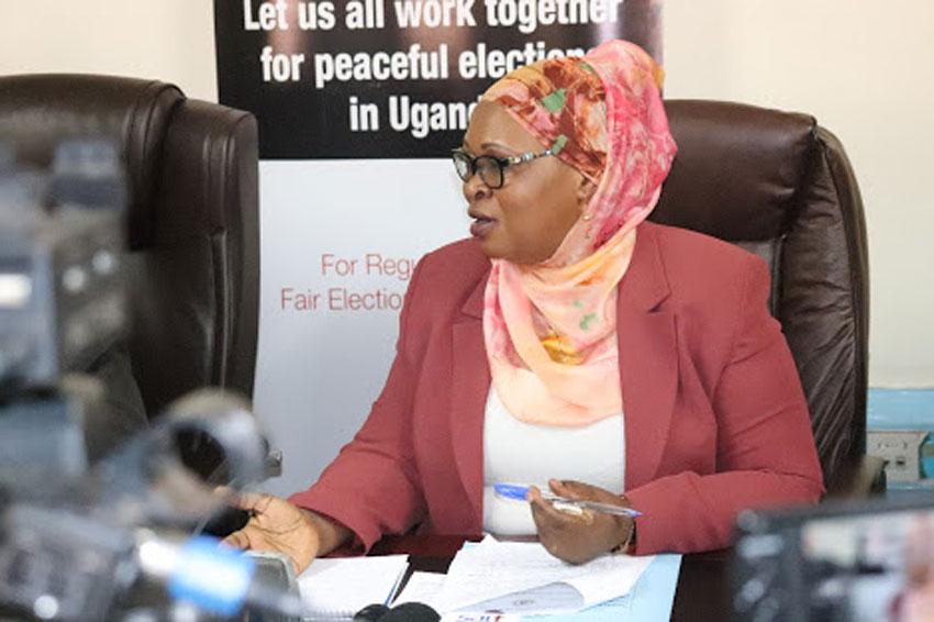 Hajjat Aisha Lubega, EC Deputy Chairperson