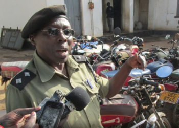 Kigezi Regional Police Spokesperson Elly Maate