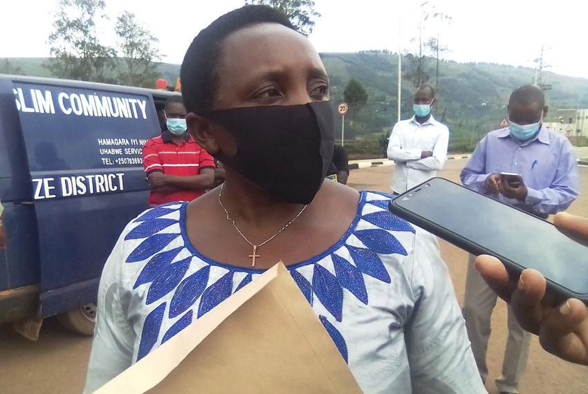 Uwanyirigira Marie Chantal, Burera District Mayor