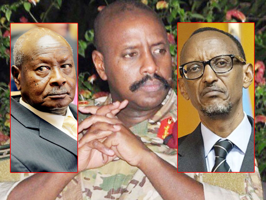 President Museveni, Gen Muhoozi and President Kagame