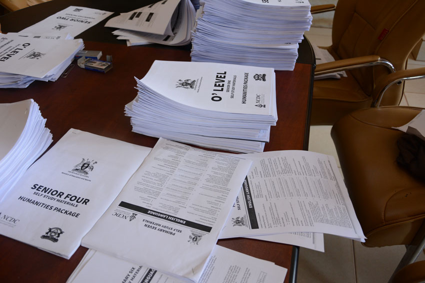Printed reading materials to be distributed in various parts of the country